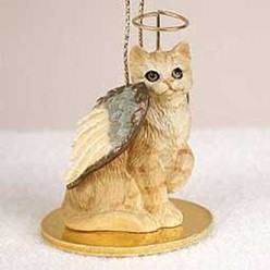 Cat Angel Ornaments