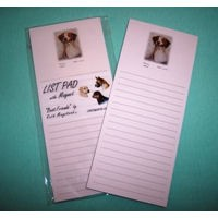 Dog List Pads