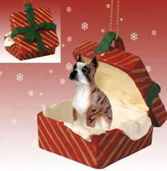 Dog Gift Box Ornaments