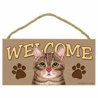 Cat Welcome Signs