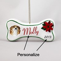 Dog Bone Holiday Ornaments