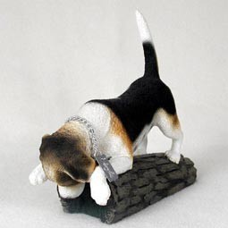 Raining Cats and Dogs | Beagle My Dog Figurine