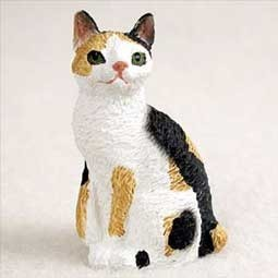 Raining Cats and Dogs | Japanese Bobtail Cat Tiny One Figurine
