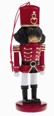 Raining Cats and Dogs | Dachshund Nutcracker Christmas Ornament