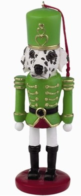 Raining Cats and Dogs | Dalmatian Nutcracker Christmas Ornament