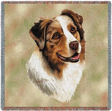 Raining Cats and Dogs | Australian Shepherd Throw