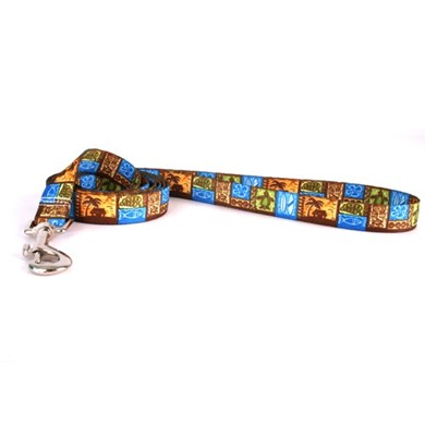Raining Cats and Dogs | Tiki Print Leash