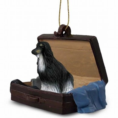 Raining Cats and Dogs | Afghan Traveling Companion Ornament