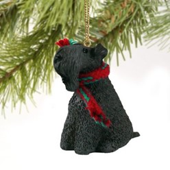 Kerry Blue Christmas Ornament
