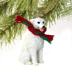 Kuvasz Christmas Ornament