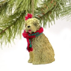 Soft Coated Wheaten Christmas Ornament