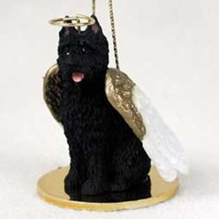 Bouvier Angel Ornament