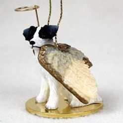 Jack Russell Angel Ornament