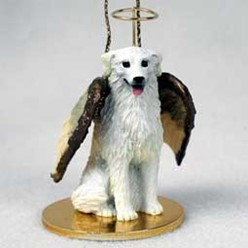 Kuvasz Angel Ornament