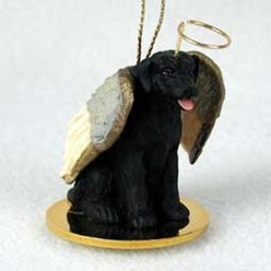 Lab Retriever Angel Ornament