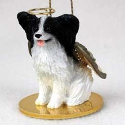 Papillon Angel Ornament
