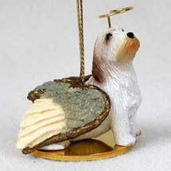 Petit Basset Griffon Vendeen Angel Ornament