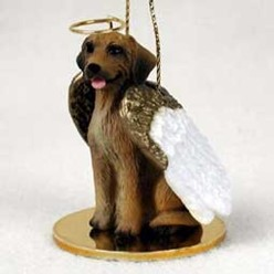 Rhodesian Ridgeback Angel Ornament
