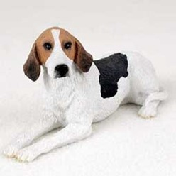American Foxhound Figurine
