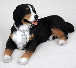 Bernese Mountain Dog My Dog Figurine