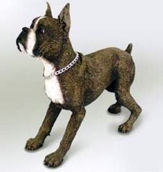 Boxer My Dog Figurine