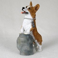Welsh Corgi My Dog Figurine