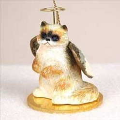 Ragdoll Cat Angel Ornament