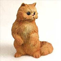 Persian Cat Figurine, the perfect gift for cat lovers
