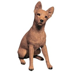 Miniature Pinscher Sandicast Original Figurine