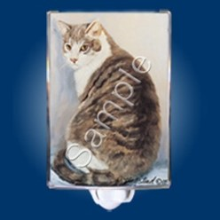 Tabby Cat Night Light