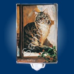 Maine Coon Cat Night Light
