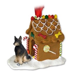 Belgian Tervuren Gingerbread Christmas Ornament