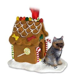 Cairn Terrier Gingerbread Christmas Ornament