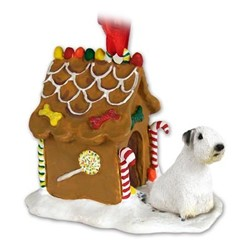 Sealyham Terrier Gingerbread Christmas Ornament