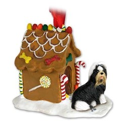 Shih Tzu Gingerbread Christmas Ornament