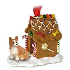 Welsh Corgi Pembroke Gingerbread Christmas Ornament