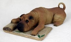 Shar-Pei My Dog Figurine