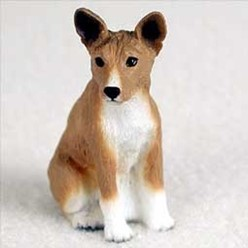 Basenji Tiny One Dog Figurine