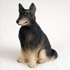 Belgian Tervuren Tiny One Dog Figurine