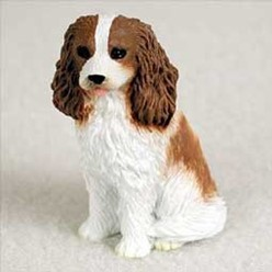 Cavalier King Charles Tiny One Dog Figurine