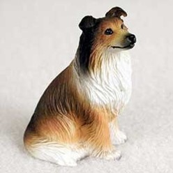Collie Tiny One Dog Figurine