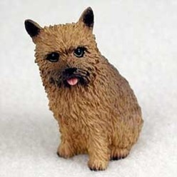 Norwich Terrier Tiny One Dog Figurine