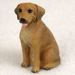 Rhodesian Ridgeback Tiny One Dog Figurine
