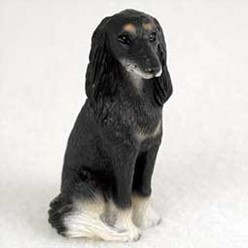 Saluki Tiny One Dog Figurine