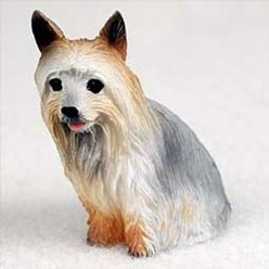 Silky Terrier Tiny One Dog Figurine