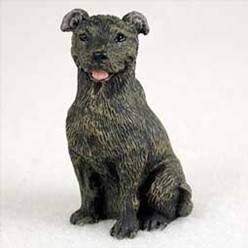 Staffordshire Bull Terrier Tiny One Dog Figurine