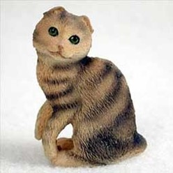 Scottish Fold Cat Tiny One Figurine