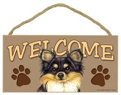 Chihuahua Welcome Sign, a Terrific Dog Breed Gift