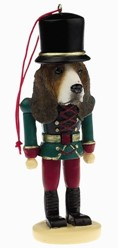 Basset Hound Nutcracker Christmas Ornament