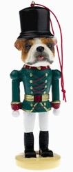 Bulldog Nutcracker Christmas Ornament